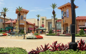 Enjoy shopping, eating, and entertainment in Destin Commons.